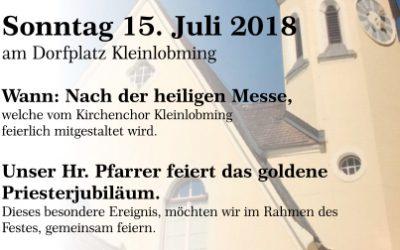 Pfarrfest Hl. Thomas Kleinlobming