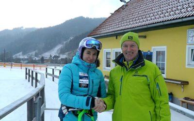 Tschechische SCHI-Weltcupläuferin in Kleinlobming